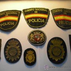 Militaria: PARCHES DE LA POLICIA Y OTRO. Lote 34119443