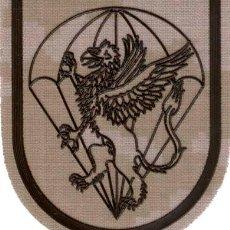 Militaria: PARCHE EMBLEMA BATALLON DE CUARTEL GENERAL BRIPAC PIXELADO. Lote 100493494
