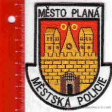 Militaria: PARCHE POLICÍA. POLICIA MESTO PLANA (REPUBLICA CHECA). Lote 26854040