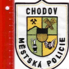 Militaria: PARCHE POLICÍA. POLICIA CHODOV (REPUBLICA CHECA). Lote 26854041