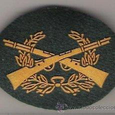 Militaria: PARCHE EMBLEMA TIRADOR SELECTO GUARDIA CIVIL ORO. Lote 54895805