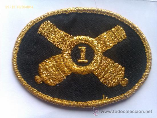 PARCHE SOMBRERO DE OFICIAL 1º REGIMIENTO DE ARTILLERÍA LIGERA DE RHODE ISLAND. GUERRA DE SECESIÓN. (Militar - Parches de tela )