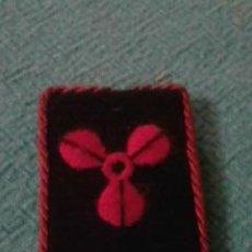 Militaria: PARCHE MILITAR NAVAL. ROJO. Lote 36493476