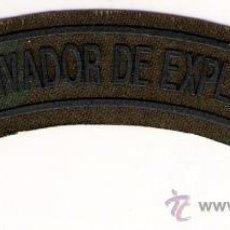 Militaria: PARCHE EMBLEMA TIRA DESACTIVADOR DE EXPLOSIVOS CAMUFLAJE. Lote 50489845