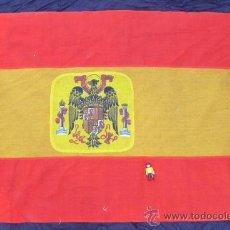 Militaria: BANDERA ANTIGUA ESPAÑA EPOCA FRANCO AGUILA PRECONSTITUCIONAL . Lote 36740043