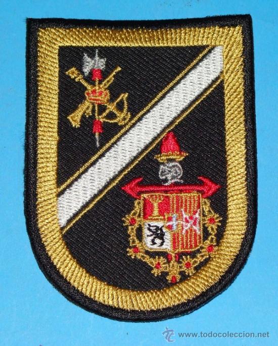 PARCHE MILITAR LEGIONARIO. LEGIÓN ESPAÑOLA TERCIO JUAN DE AUSTRIA, VIATOR. EMBLEMA DE BRAZO. ALGF (Militar - Parches de tela )