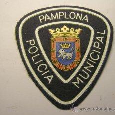 Militaria: PARCHE DE POLICIA MUNICIPAL, PAMPLONA.. Lote 37779057