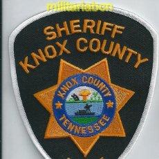 Militaria: INSIGNIA DE TELA DE POLICÍA DE LOS ESTADOS UNIDOS. SHERIFF KNOX COUNTY. RESERVE. TENNESSEE .. Lote 39625608