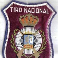 Militaria: BONITO PARCHE DE TELA, TIRO NACIONAL MADRID. . Lote 40335742