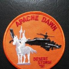 Militaria: PARCHE DE TELA DE PILOTO DE APACHE AH164. Lote 191441423