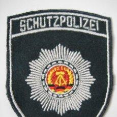 Militaria: PARCHE DE TELA ALEMAN-DDR. POLICIA, 100 % ORIGINAL DE EPOCA. Lote 199034018