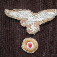 Militaria: INSIGNIA ALEMANA PARA GORRA LUFTWAFFE DAK. Lote 41691886