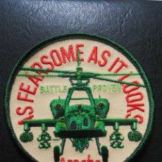 Militaria: PARCHE DE TELA DE PILOTO DE AH64 APACHE. Lote 41997435