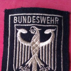 Militaria: PARCHE EMBLEMA ESCUDO ALEMANIA MILITAR DE LA BUNDESWEHR SECCION BOMBEROS. Lote 44939532