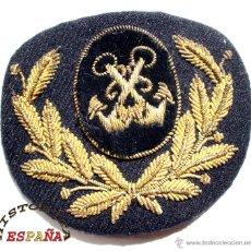 Militaria: GALLETA DE GORRA MARINA MERCANTE - OFICIALES DE PUENTE. Lote 44925770