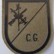 Militaria: PARCHE MILITAR LEGIONARIO. LEGIÓN ESPAÑOLA. CG CUARTEL GENERAL. Lote 45104106