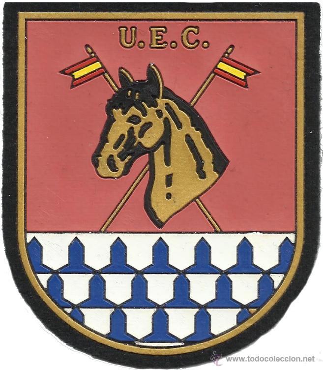 CUERPO NACIONAL DE POLICIA UNIDAD ESPECIAL DE CABALLERIA - EB00249 (Militar - Parches de tela )