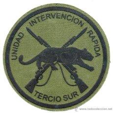 Militaria: PARCHE INFANTERIA DE MARINA UNIDAD DE INTERVENCION RAPIDA TERCIO SUR. Lote 126099136