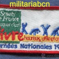 Militaria: SCOUTS DE FRANCE. INSIGNIA DE TELA DE LOS BOY SCOUTS FRANCESES.. Lote 295037098