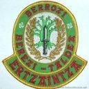 Militaria: PARCHE POLICIA ERTZAINTZA UNIDAD DE PROTECCION E INTERVENCION. Lote 159016996