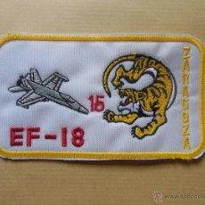 Militaria: PARCHE DE TELA DE PILOTO DE EF18 DEL ALA 15.E.A.. Lote 50506770