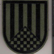 Militaria: PARCHE EMBLEMA BRIGADA INFANTERÍA LIGERA URGEL IV VERDE. Lote 110907488
