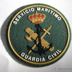 Militaria: PARCHE GUARDIA CIVIL SERVICIO MARITIMO ORIGINAL. Lote 296891958