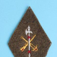Militaria: LEGION EMBLEMA PARCHE BORDADO EN TELA GRUESA 13 X 8CM. Lote 47807055