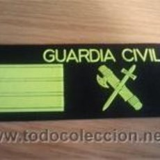 Militaria: EMBLEMA PECHO GUARDIA CIVIL ALTA LUMINOSIDAD (SARGENTO). Lote 48000226