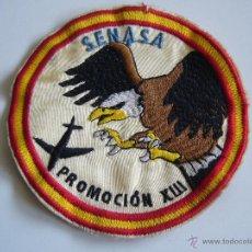 Militaria: PARCHE ANTIGUO DE SENASA PROMOCIÓN XIII AVIACIÓN . Lote 48006353