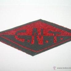 Militaria: PARCHE DE TELA.......C.N.T.. Lote 48316771