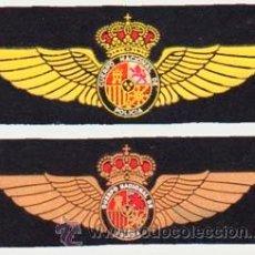 Militaria: EMBLEMAS ROKISKI PILOTOS CUERPO NACIONAL DE POLICÍA (CNP). Lote 48370373