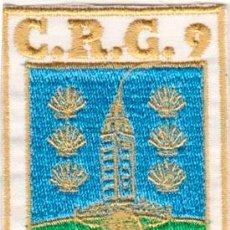 Militaria: CRG 9ª EMBLEMA COMPAÑÍA RESERVA GENERAL (ORIGINAL). Lote 48502487