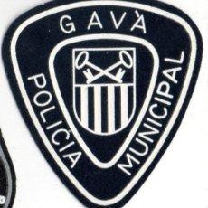 Militaria: PARCHE POLICIA MUNICIPAL GAVA. Lote 155701178