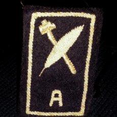 Militaria: DISTINTIVO BORDADO EN PLATA DE LA MARINA ESPAÑOLA. Lote 48884153