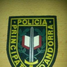 Militaria: COLECCION PARCHE UNIFORME POLICIA DEL PRINCIPADO DE ANDORRA POLICIA PRINCIPAT D´ANDORRA. Lote 48984031
