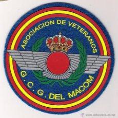 Militaria: PARCHE EMBLEMA ASOCIACIÓN DE VETERANOS G.C.G. DEL MACOM. Lote 294980718