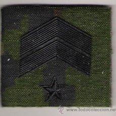 Militaria: PARCHE EMBLEMA CHANDAL SUBOFICIAL MAYOR PIXELADO VERDE. Lote 49015959