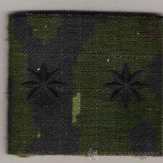 Militaria: PARCHE EMBLEMA CHANDAL TENIENTE CORONEL PIXELADO VERDE FAMET. Lote 49016039