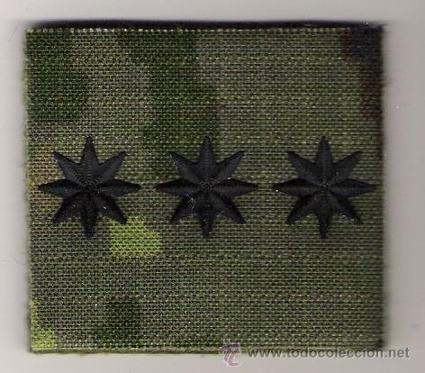 PARCHE EMBLEMA CHANDAL CORONEL PIXELADO VERDE FAMET (Militar - Parches de tela )