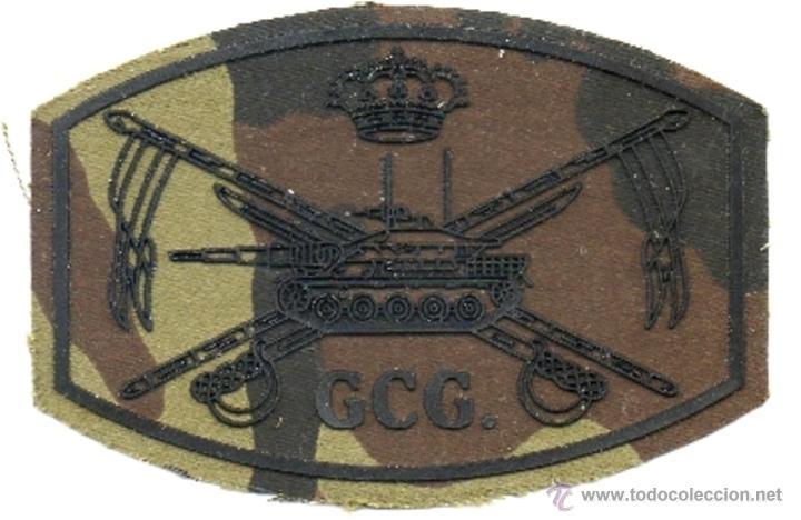 PARCHE CABALLERIA GRUPO CUARTEL GENERAL (Militar - Parches de tela )