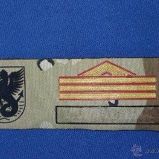 Militaria: PARCHE EMPLEO SARGENTO 1º. Lote 50721233