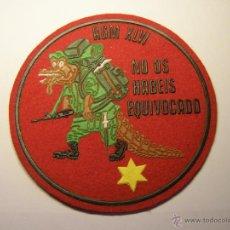 Militaria: PARCHE DEL EJÉRCITO ESPAÑOL, AGM XLVI. Lote 50793924