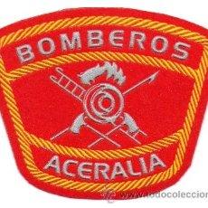 Militaria: PARCHE BOMBEROS ACERALIA. Lote 255933215