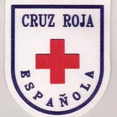 Militaria: PARCHE EMBLEMA CRUZ ROJA ESPAÑOLA. Lote 122853484