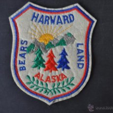 Militaria: PARCHE DE HARWARD BEARS LAND (ALASKA). Lote 52169964