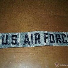 Militaria: US AIR FORCE. PARCHE DE TELA PARA UNIFORME. Lote 52462751
