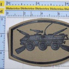 Militaria: PARCHE MILITAR LEGIONARIO. I TERCIO GRAN CAPITÁN DE LA LEGIÓN. MELILLA. TANQUE BMR. LISO. Lote 53091244