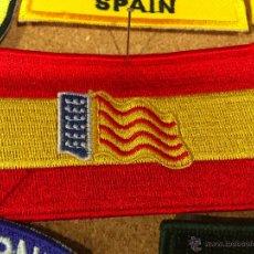 Militaria: PARCHE BANDERA ESPAÑA CON BANDERA VALENCIANA. Lote 98535099
