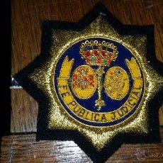 Militaria: DISTINTIVO BORDADO DE LA FE PUBLICA JUDICIAL. Lote 53261309